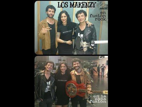 RUTH MILCA-LOS MAKENZY entrevista en Radio y Tv Mexiquense (fusión rock y la zona fusión)
