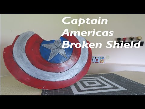 Building Captain Americas Broken Shield But in 2 days
