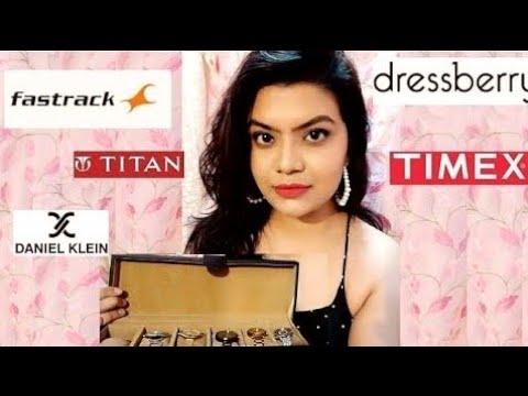 Watches Review, Fastrack, Titan, Daniel Klein, Dressberry Watches Myntra Sale Haul, Amazon, Flipkart