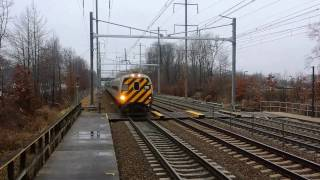 Railfanning Princeton Junction w/ TONS OF HORN and RARE CATCHES!