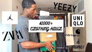 HUGE $1000+ SPRING/SUMMER SNEAKER & CLOTHING HAUL! | FT. ZARA, JORDAN, YEEZY, VINTAGE & MORE!
