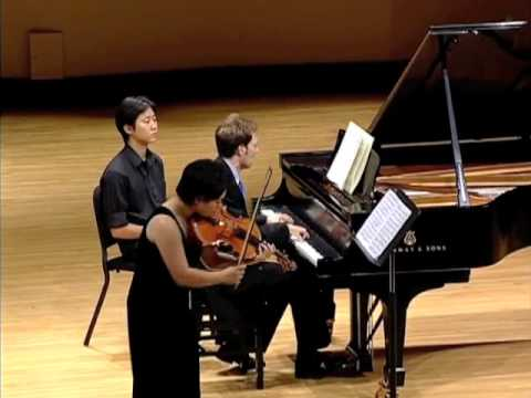 Yura Lee, viola - Hindemith Op.11/4 (2 of 2)