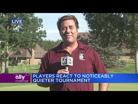 Players react to noticeably quieter tournament at the Ally Challenge