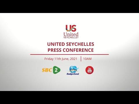 SBC   LIVE PRESS CONFERENCE - UNITED SEYCHELLES - 11.06.2021