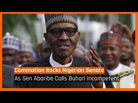 Nigeria News Today: Uproar In The Senate As PDP Sen Abaribe Calls Buhari 'Incompetent' (12/04/18)
