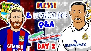 Video Messi & Ronaldo Q&A! (El Clasico 1-1 2016-DAY 2 Advent Calendar!) download MP3, 3GP, MP4, WEBM, AVI, FLV Agustus 2018