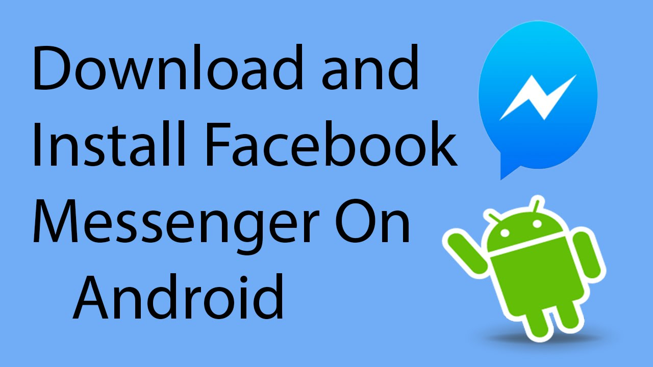 facebook messenger free download and install