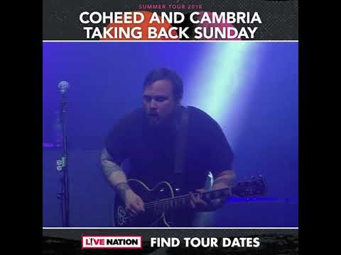 Coheed and Cambria  Summer Tour 2018