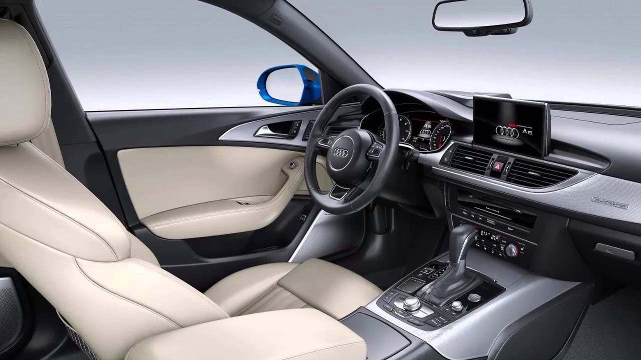 Beautiful Audi A6   Interior   YouTube