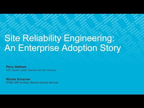 Site Reliability Engineering: An Enterprise Adoption Story - an ITSM Academy Webinar