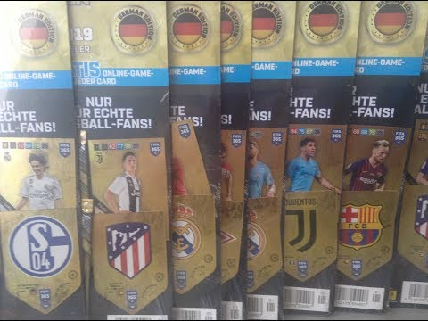 PANINI AXL FIFA365 (2019) ***3 GERMAN MULTI PACKS/3 LIMITED EDITION CARDS/1 TOP MASTER PULL