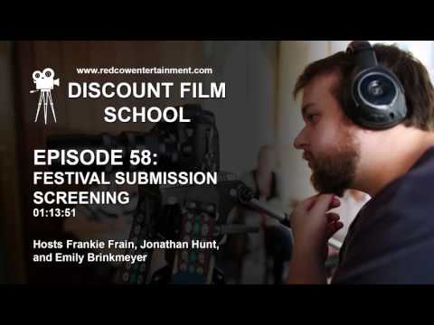 Discount Film School 58 - Festival Submission Screening