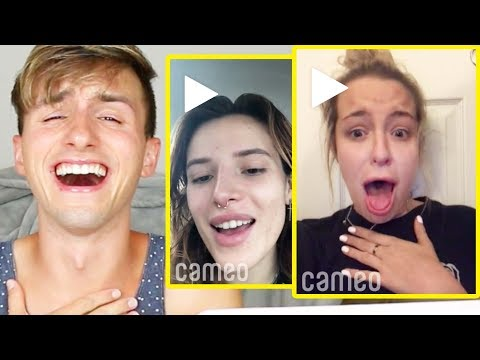 BUYING VIDEO SHOUTOUTS FROM CELEBRITIES & YOUTUBERS #3