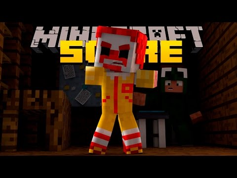 Minecraft Scare - FIVE NIGHTS AT MCDONALDS!?