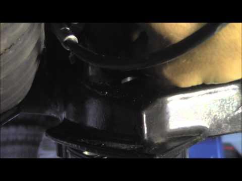 outboard motor water hose hook up