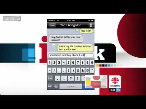 KIK.COM Chat For Blackberry And IPhone