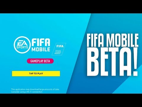 NEW FIFA MOBILE BETA GAMEPLAY!