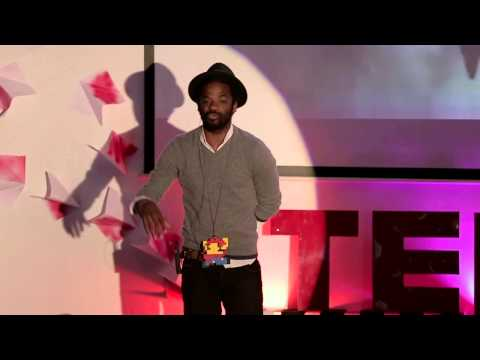 How I became an artist | Binelde Hyrcan | TEDxLuanda