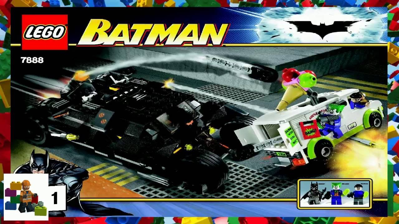 lego instructions batman joker 39 s ice cream surprise. Black Bedroom Furniture Sets. Home Design Ideas