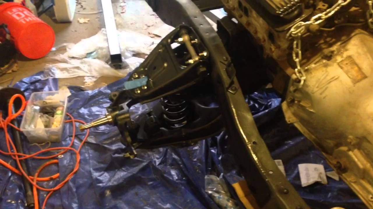 1966 Chevy C10 Front Suspension Update Youtube