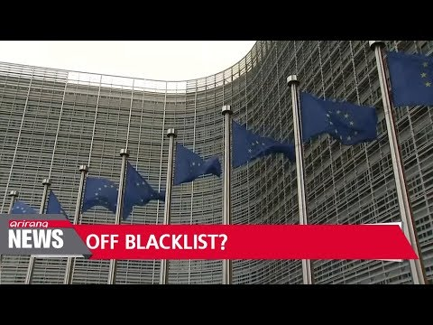 EU to remove South Korea, 7 others from tax haven blacklist: Reuters