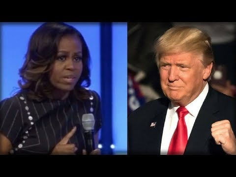 MICHELLE RUNS MOUTH AT PRESIDENT, TRUMP SENDS HER SCURRYING BACK UNDER ROCK SHE CRAWLED FROM