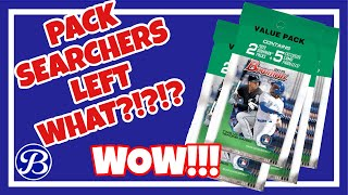 Pack Searchers Left What?!?! - 4x 2019 Bowman Value Pack Hanger Break - BIG HIT!!! Retail Ripping