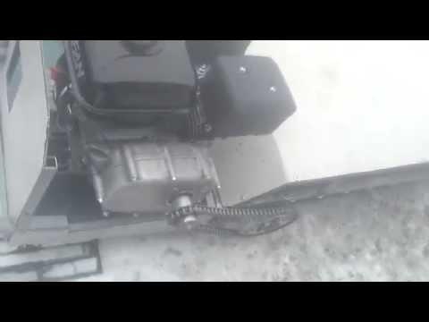 видео: Мини снегоход своими руками разборка