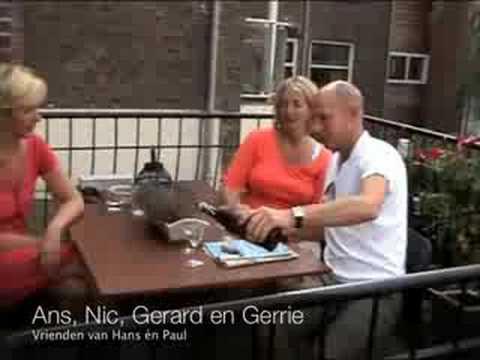 Gerrie, Ans, Nic en Gerard over Hans en Paul