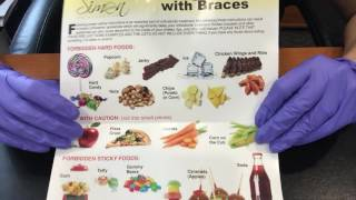 Tips and eating with braces