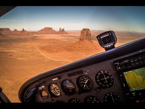 USA cross-country flight in a Cessna 172S