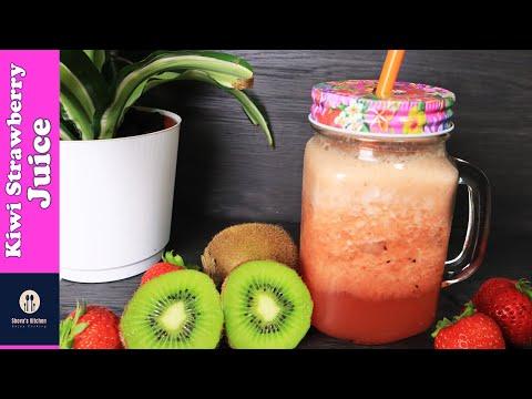Kiwi Strawberry Juice | *Perfect Recipe* | Summer Drinks | Superfood