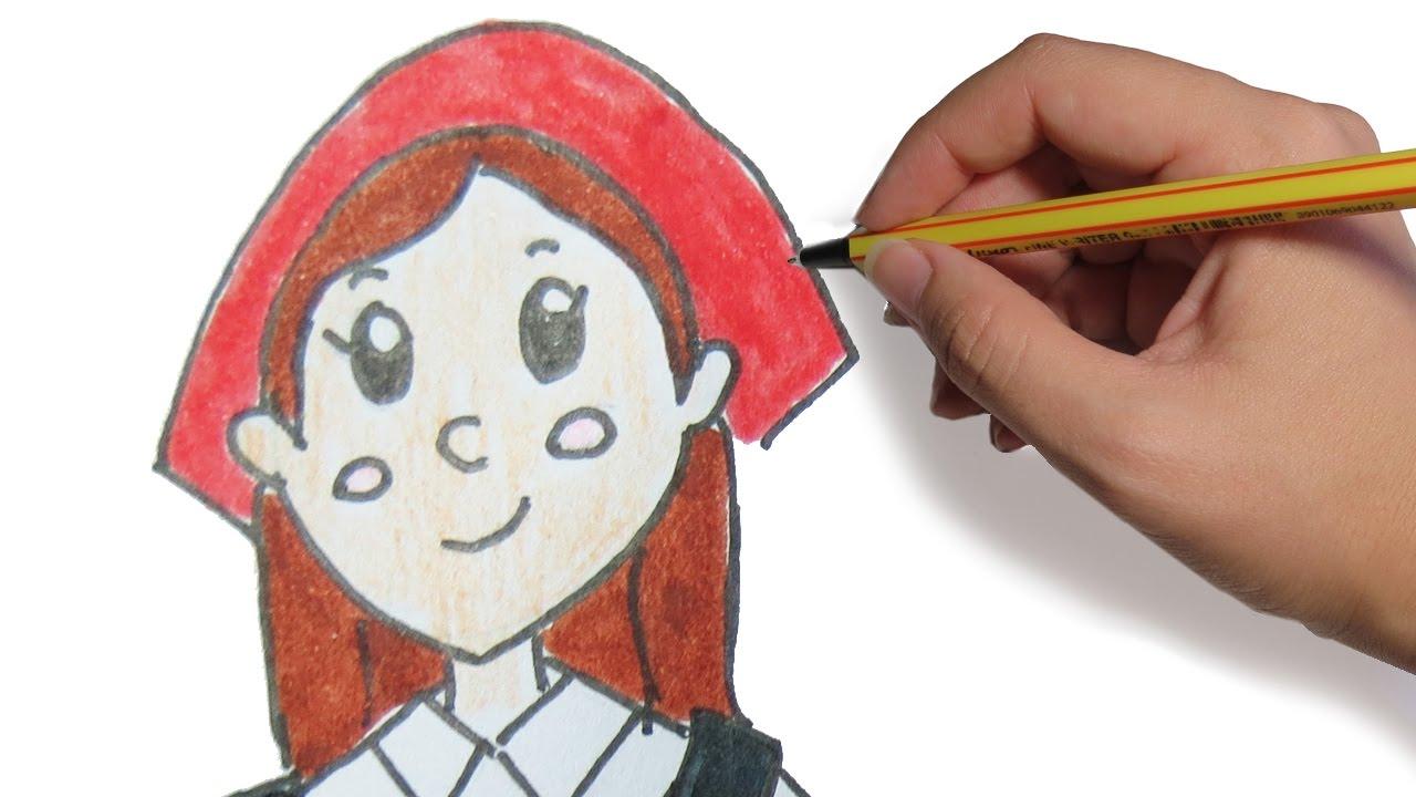 Dibujos de navidad pastora para el portal de belen - Dibujos de pared para ninos ...