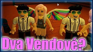 DVA VENDOVÉ VE HŘE?😱😂 Roblox Flee the Facility w/Vendali