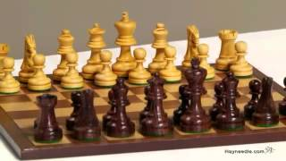 We Games Rosewood Staunton Chess Set - Product Review Video