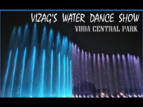 Vizag's city central park water show