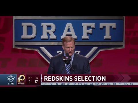 Washington Redskins Select Jonathan Allen, DE (Alabama): Round 1, Pick 17