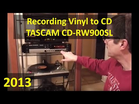 Converting Vinyl to CD with TASCAM CD-RW900SL