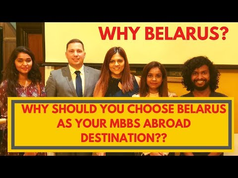 MBBS in Belarus|Fees Structure 2019|MCI & WHO Approved Universities