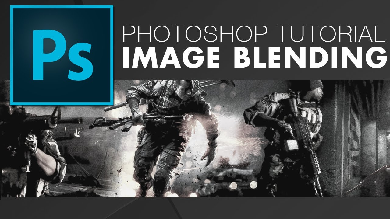 Blend Images Together Seamlessly in Adobe Photoshop - YouTube