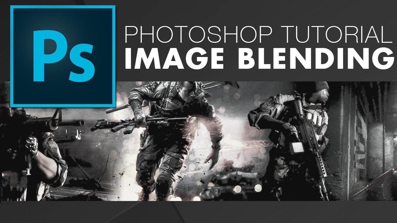 Merge photos photoshop tutorial