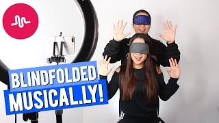 Blindfolded shopping challenge