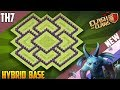 ULTIMATE Town Hall 7 (TH7) HYBRID Base 2018!! COC New BEST Th7 HYBRID Base Design - Clash of Clans