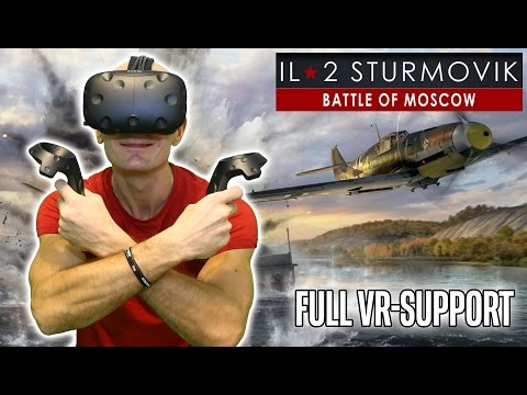 IL-2 Sturmovik VR Gameplay on HTC Vive - World War 2 Combat Flight Simulator update with VR support!