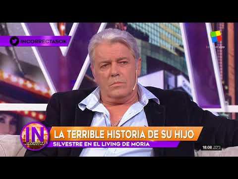 Silvestre contó la tragedia de su hijo en Incorrectas
