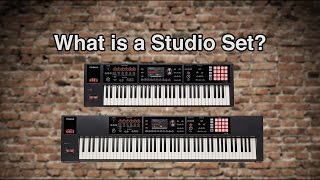 Roland FA-06/08 - What is a Studio Set
