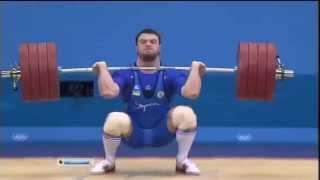 Олимпиада 2012,тяжёлая атлетика,Алексей Торохтий   Наше 3 Золотая медалька