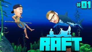 2 NOOBS SPIELEN RAFT! - RAFT [Deutsch/HD]
