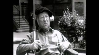 """Jean Gabin et Marie-José Nat sur le tournage du film """"Rue des prairies"""""""