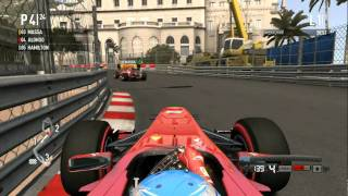 Formula 1 2011 pc gameplay ( HD )